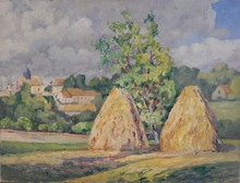 Louis LABRO-FONT - Painting - Paysage