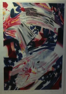 James ROSENQUIST, Stars and Stripes at the Speed of Light