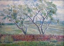 Michel ADLEN - Pittura - Landscape in France