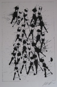 Fernandez ARMAN - Stampa Multiplo - LITHOGRAPHIE 1979 SIGNÉE AU CRAYON HANDSIGNED LITHOGRAPH