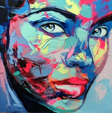 Françoise NIELLY - 绘画 - Mylène