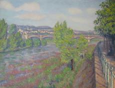 Eugène DELAPORTE - Pintura - Vichy
