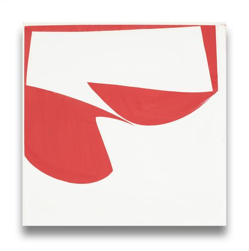 Joanne FREEMAN - Painting - Covers 18- Red B