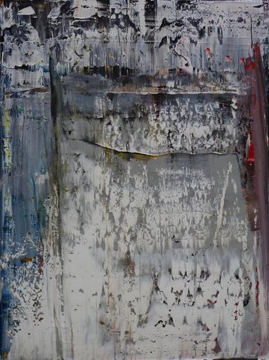 Harry James MOODY - Peinture - Abstract Realism No.527