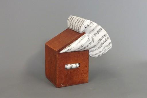 Lluis CERA I BERNAD - Escultura - Boîte à musique