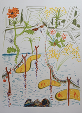 Salvador DALI - Print-Multiple - Imaginations & Objects of The Future Biological Garden