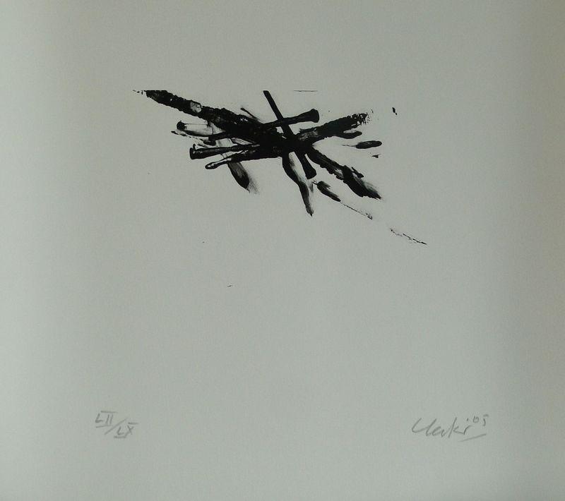 Günther UECKER - Estampe-Multiple - Sarajewo