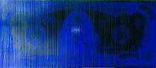 ZEVS - Estampe-Multiple - Blue dollar