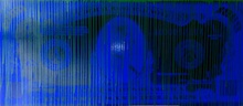 ZEVS - Stampa Multiplo - Blue dollar