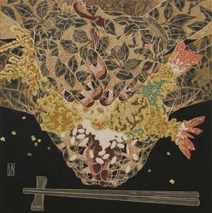 Hiroomi ITO - Pittura - Tendon en los pies