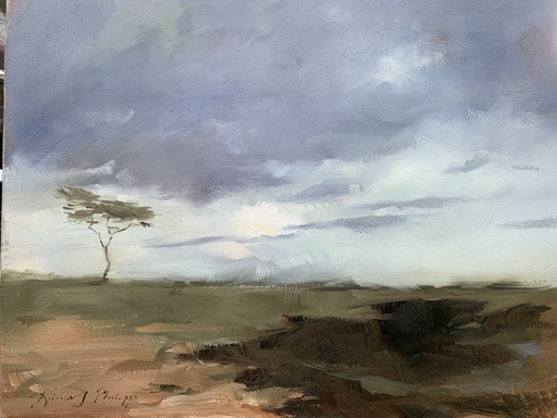 Nicky PHILIPPS - Pittura - African plains