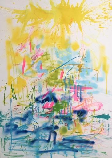 Nicole LEIDENFROST - Gemälde - Thailändische Blumenernte