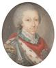 "Jean Étienne LIOTARD (Attrib.) - Miniature - ""King Charles Emmanuel IV of Sardinia"""