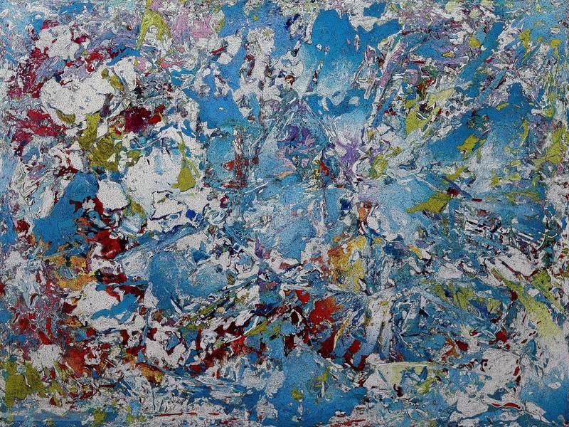 Nicolae Andrei ENE - Painting - Untitled ref. 12-18