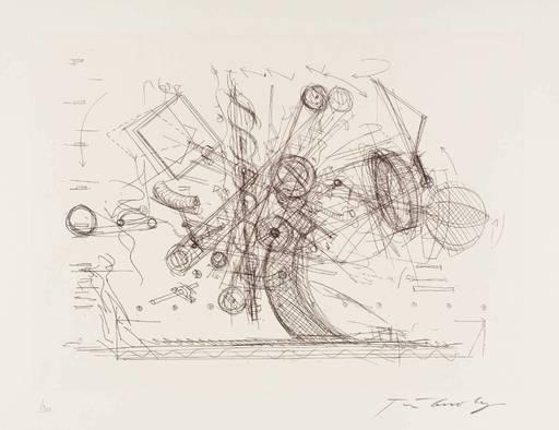 Jean TINGUELY - Print-Multiple - Chaos I