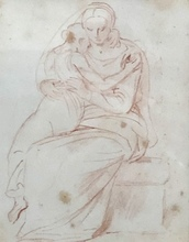 Alexandre Évariste FRAGONARD - Drawing-Watercolor