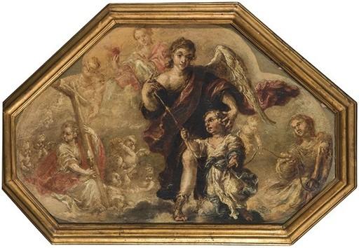 Juan de Nisa VALDÉS LEAL - Pintura - El Ángel de la Guarda