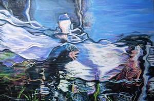 Susanne SCHOLZ - Painting - Angelus