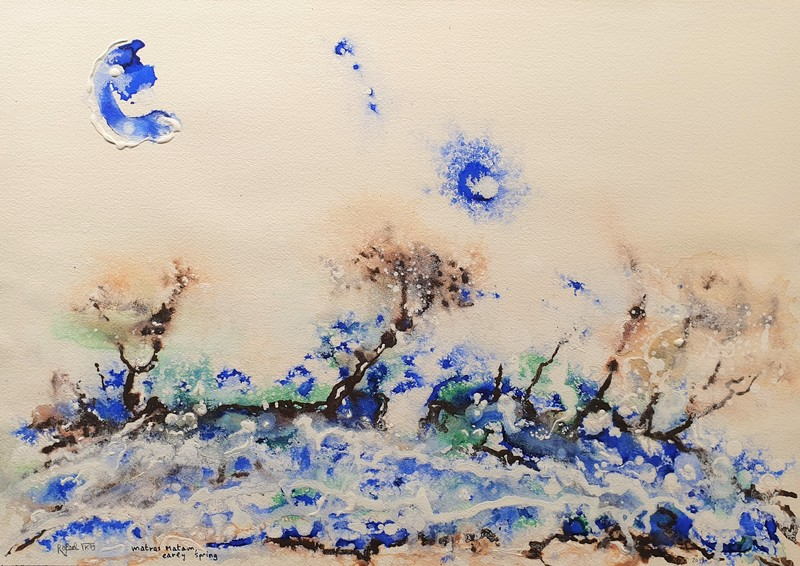 Rafael DE TOURS - Peinture - Matras Matam, early spring