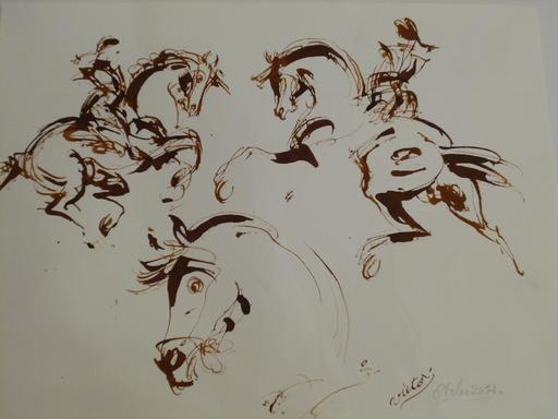 VICTOR - Disegno Acquarello - Arles