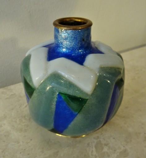 Jules SARLANDIE - Vase à décor géométrique vers 1925