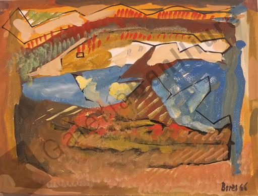 Francisco BORES - Peinture - Paisaje