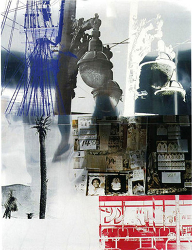 Robert RAUSCHENBERG - Stampa Multiplo - Narcissus, from ROCI USA (Wax Fire Works)