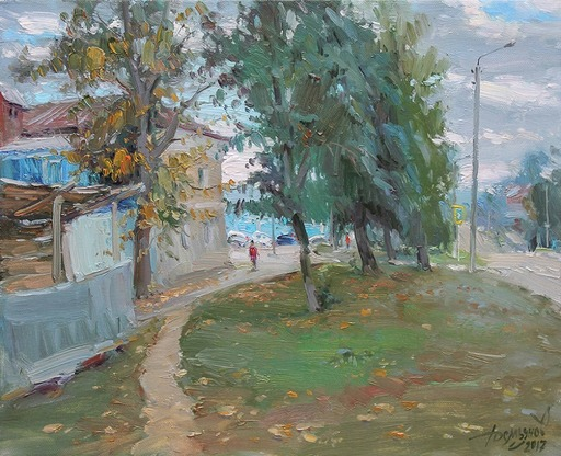 Yuriy DEMIYANOV - Peinture - early October