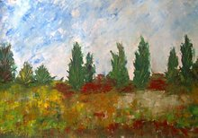 Patricia ABRAMOVICH - Gemälde - Colored Field
