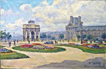 "Henry MALFROY - Pintura - "" Corusel Paris"""