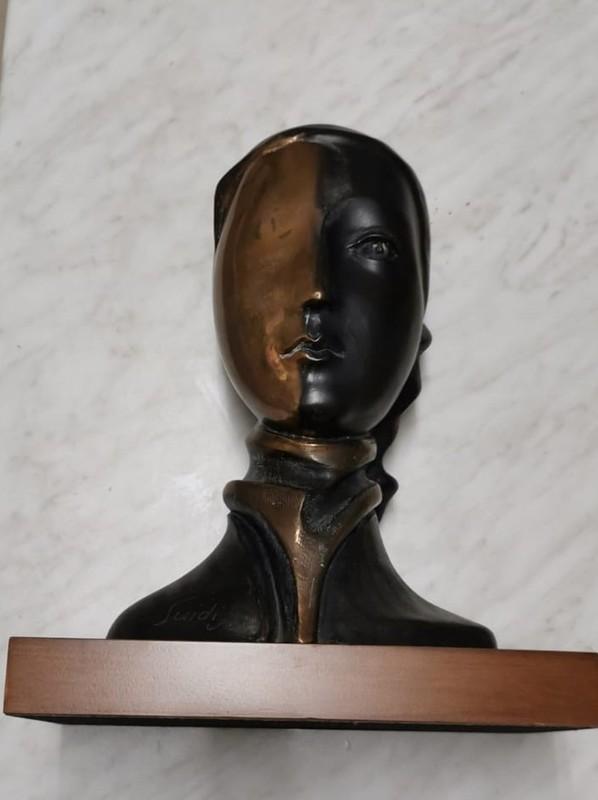 Virgilio GUIDI - 雕塑 - testina