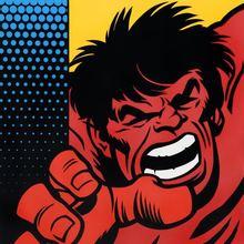 SEEN - Painting - Red Hulk