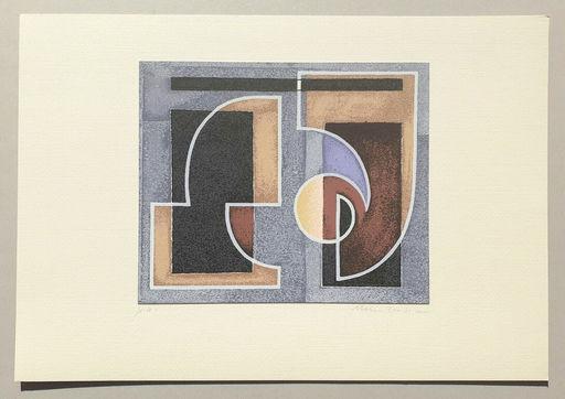 Mario RADICE - Druckgrafik-Multiple - Composizione Tav. 2