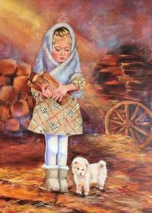 Diana MALIVANI - Pittura - The First Day of Winter
