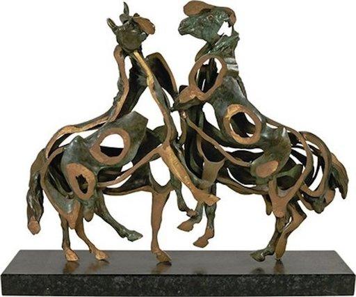 Fernandez ARMAN - Sculpture-Volume - Chevaux
