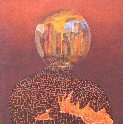 Francis MOREAU - Peinture - Poétique de la Foule en Colère
