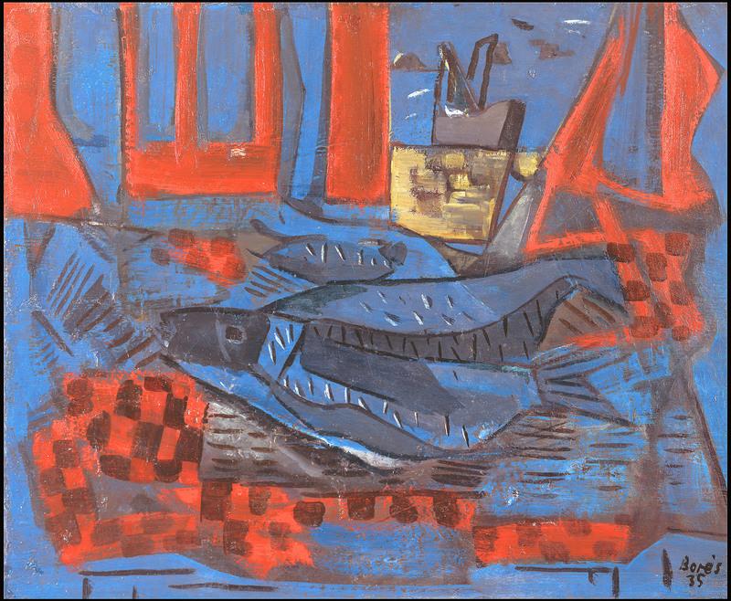 Francisco BORES - Peinture - Still life
