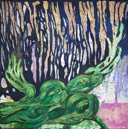 Corine LESCOP - Peinture - Entre ciel et terre