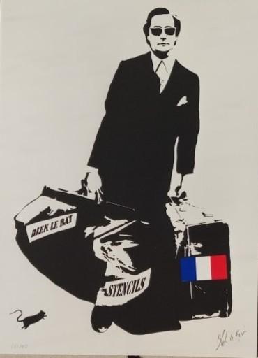 BLEK LE RAT - Grabado - Homme à  la valise