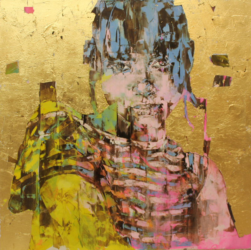 Marco GRASSI - Painting - The Di-Gold Experience n. 227