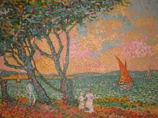 Lucien NEUQUELMAN - Print-Multiple - La mer à Sainte Maxime,1982.