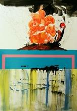 Nedzad Nedzo DURAKOVIC - Drawing-Watercolor - Volcano