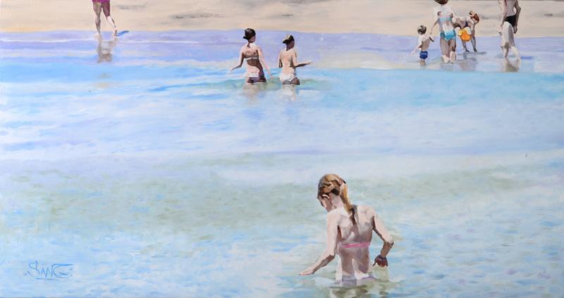 Sylvain LANG - Peinture - Ramatuelle