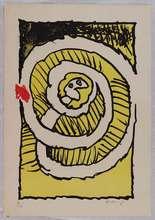 Pierre ALECHINSKY (1927) - Le serpent