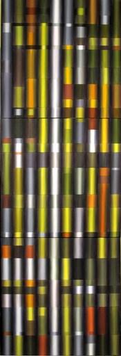 Rita DI BENEDETTO - Peinture - Dispositif de Young 2014 -  Autel Particulier