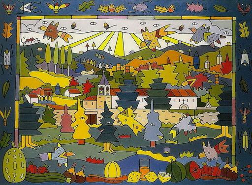 Jorge PETEIRO - Pintura - SAN FRANCISCO DE LOURO