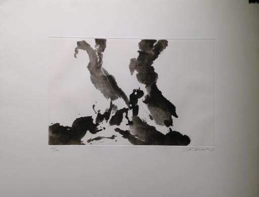 赵无极 - 版画 - Désordre