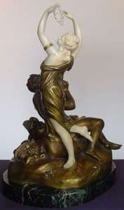 Skulptur Volumen - Pan and Muse
