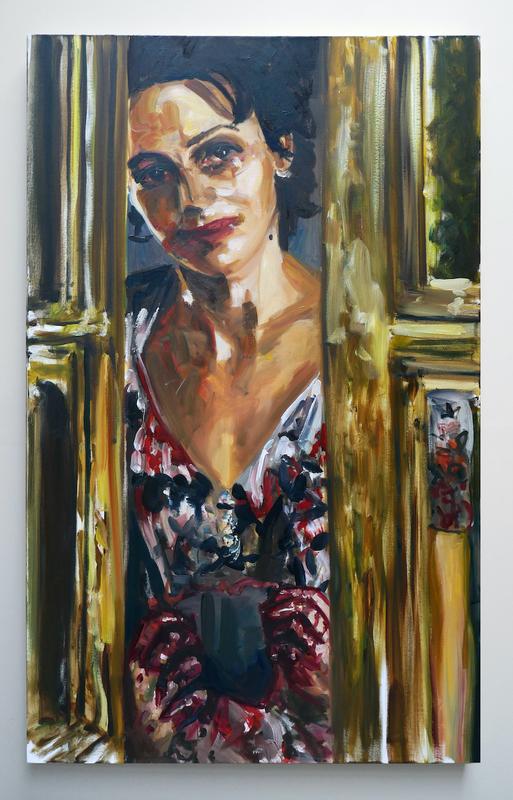Dawn MELLOR - Painting - Juliette Binoche