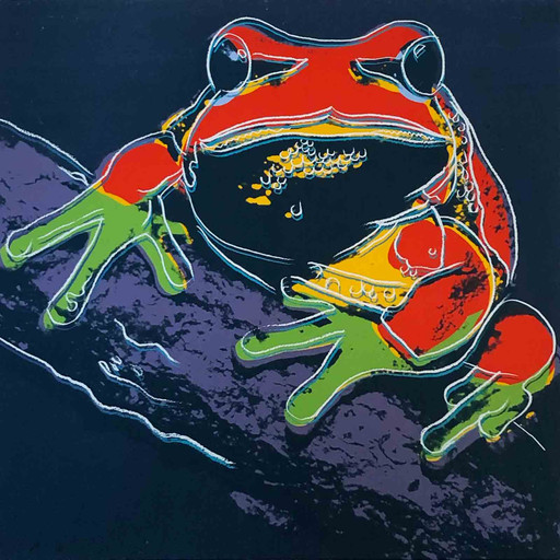 Andy WARHOL - Stampa Multiplo - Pine Barrens tree frog